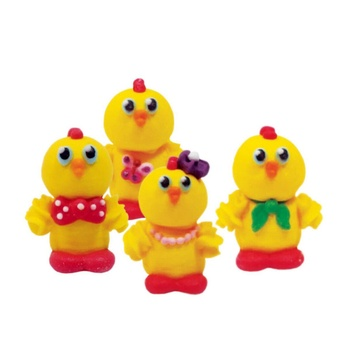 Dobryk Funny Chickens Confectionery Decor 19g - buy, prices for EKO Market - photo 1