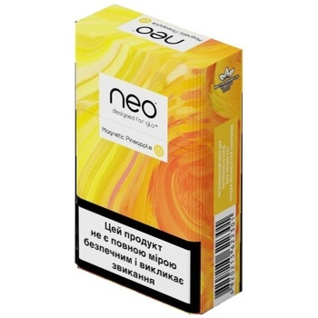 GLO Neo Demi Magnetic Pineapple Tobacco Sticks