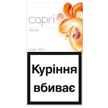 Capri Bianco Cigarettes - buy, prices for CityMarket - photo 1