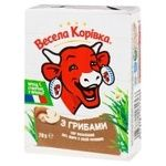 Vesela Korivka Processed Cheese with Mushrooms 38% 70g