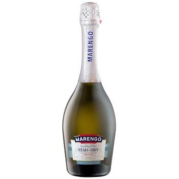 Вино игристое Marengo полусухое Bianco белое 10-13,5% 0,75л