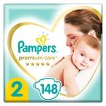 Подгузники Pampers Premium Care New Baby размер 2 Mini 4-8кг 148шт