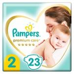 Pampers Premium Care Diapers Size 2 Mini 4-8kg 23pcs