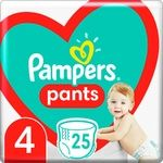 Pampers Pants Size 4 9-15kg Diapers 25pcs