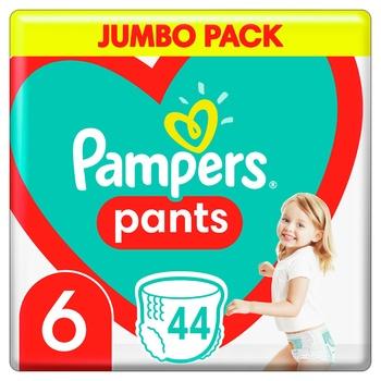 Подгузники-трусики Pampers Pants Размер 6 15+кг 44шт