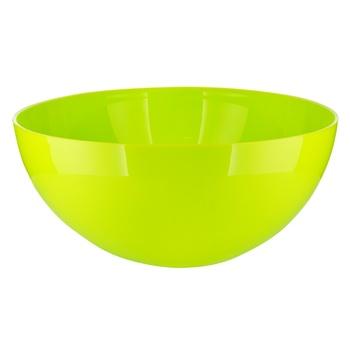 Салатник Lamela Рукола пластиковий 3л - купити, ціни на Novus - фото 1