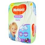 Трусики-підгузники Huggies Pants 5 для хлопчиків 12-17кг 34шт