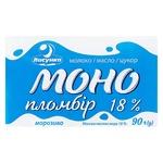 Мороженое Ласунка Моно пломбир брикет 18% 90г
