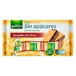 Gullon Diet Nature Waffles with Chocolate Sugar-free 180g
