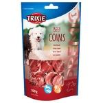 Ласощі Тріксі Преміо Коінс 100г яловичина для собак 31706