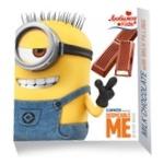 Шоколад молочний Любимов Kids Minions з молочною начинкою 50г
