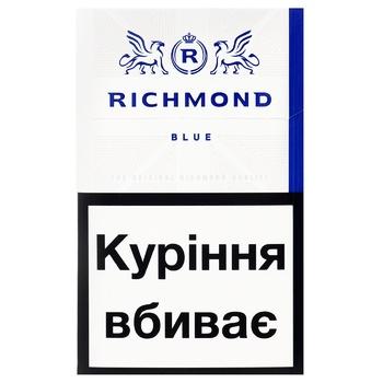 Richmond Blue Cigarettes