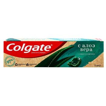 Зубна паста Colgate Турбота про ясна з алое вера 75мл - купити, ціни на УльтраМаркет - фото 1