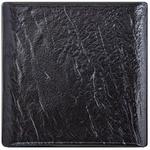 Wilmax Slatestone Square Black Plate 17x17cm