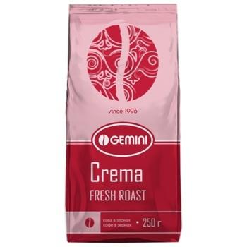 Gemini Crema Natural Roasted Grain Coffee 250g - buy, prices for CityMarket - photo 1