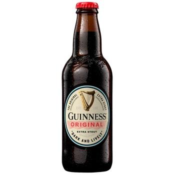 Пиво Guiness Original темное 4,8% 0,33л