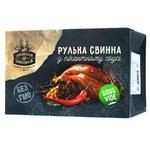 Рулька Забияка свиная в пикантном соусе весовая - купить, цены на Ашан - фото 1