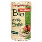 Лепешки рисовые органические без глютена 100г