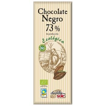 Шоколад Chocolates Sole темный органический 73% 25г