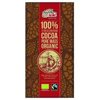 Шоколад Chocolates Sole темный органический 100% 25г