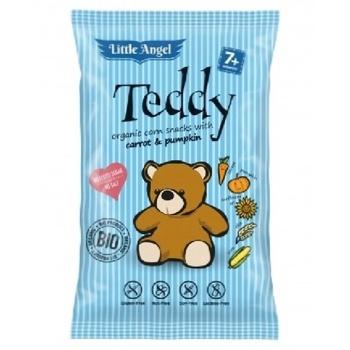 Little Angel Teddy Organic Corn Snack 30g