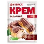Крем заварний Украса з ароматом та порошком какао 75г