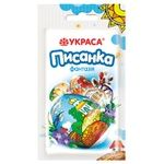 Набор термоусадочных етикеток Украса Писанка №3 Фантазия для украшения пасхальных яиц