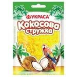 Кокосова стружка Украса жовта 25г