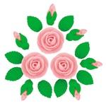 Кондитерские украшения набор Украса Розы