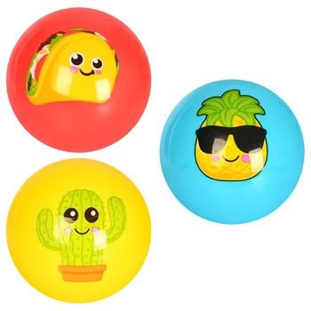 М'яч надувний дитячий 23см в асортименті - купити, ціни на Ашан - фото 1