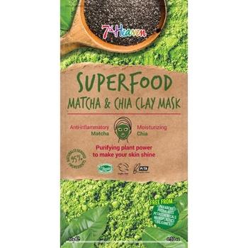 Маска 7th Heaven Superfood Матча & Чіа для обличчя 10г