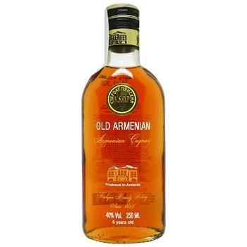 Proshyan Brandy Factory Old Armenian V.S.O.P. 5 yrs 40% 0,25l