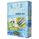 Trata Wild Catch In Vegetable Oil Anchovies 100g