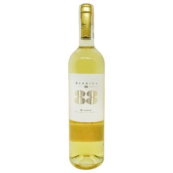 Вино Barrica 88 Blanco Utiel-Requena белое сухое 12% 0,75л