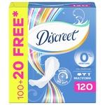 Прокладки Discreet Multiform ежедневные 120шт