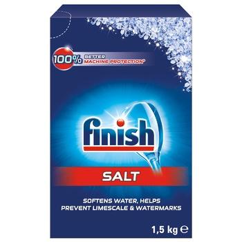 Соль специальная Finish Calgonit для посудомоечных машин 1.5кг