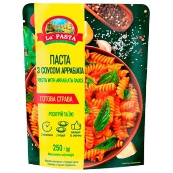 Паста La Pasta с соусом Аррабиата 250г