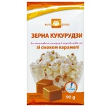 Мікропопкорн Eurogroup зі смаком карамелі 90г