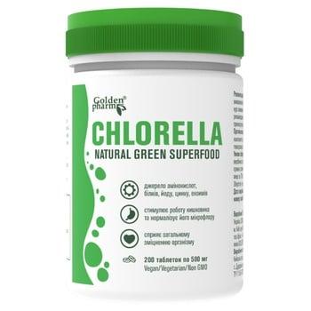 Витаминный комплекс Golden Pharm Chlorella 200шт