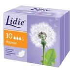 Прокладки Lidie Normal сеточка 10шт