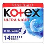 Kotex pads Ultra Night mash 14pcs