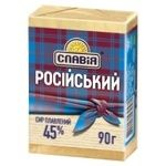 Slavia Processed Russian Cheese 45% 90g