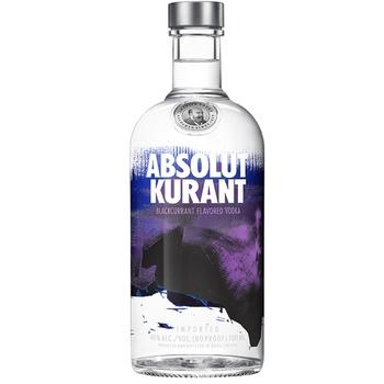 Водка Absolut Kurant 40% 0,7л - купить, цены на Ашан - фото 1