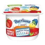 Йогурт Растишка клубника 2% 115г