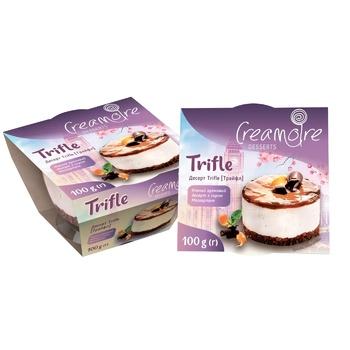Десерт кремовый Creamoire Тrifle с сыром Маскарпоне 100г