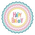 Тарелка Actuel Happy Birthday 23см 10шт