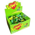 Жевательная резинка Love is со вкусом яблока и лимона 4г