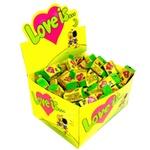 Жевательная резинка Love is со вкусом кокоса и ананаса 4г