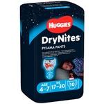 Huggies DryNites Night diapers for boys 4-7 years 10pcs