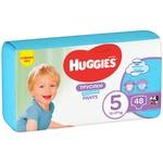 Трусики-подгузники Huggies Pants 5 Mega 13-17 кг для мальчиков 48 шт